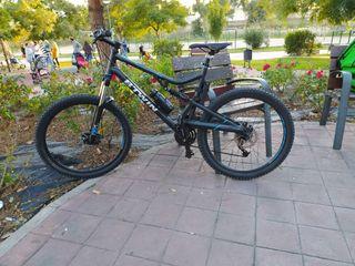 bicicleta doble suspensión XL