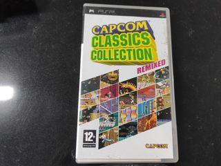 juego psp capcom classic collection remixed