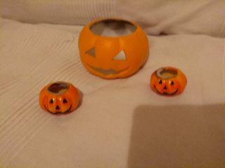 Portavela calabazas( Halloween)