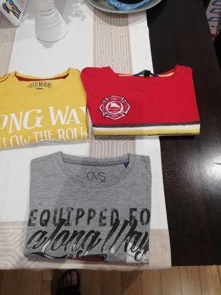 camisetas niño