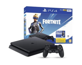 PS4 Slim 500Gb + Voucher Fortnite