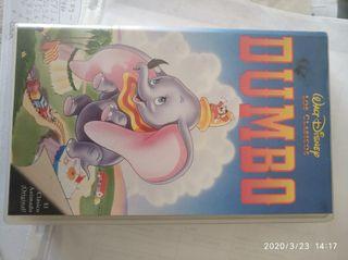 Dumbo. Clásicos Disney. VHS.
