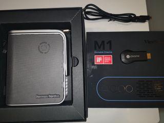 PROYECTOR PORTATIL LED - VIEWSONIC M1 - chromecast