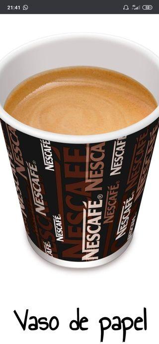 máquina de cafés y chocolates Nescafé