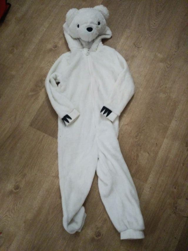 Pijama mono de oso niñ@s