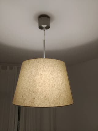Lámpara beige