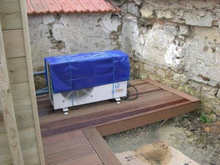 Instalamos bombas de calor piscinas