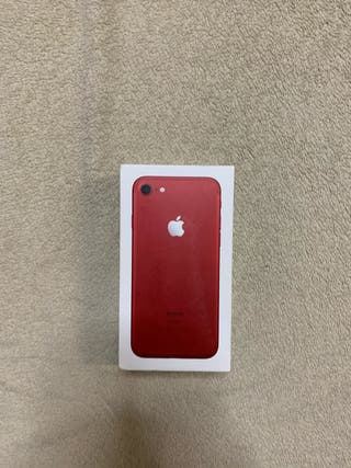 iPhone 7 versión red.
