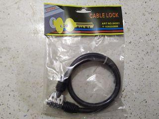 Cable antirrobo de combinacion para bicicleta