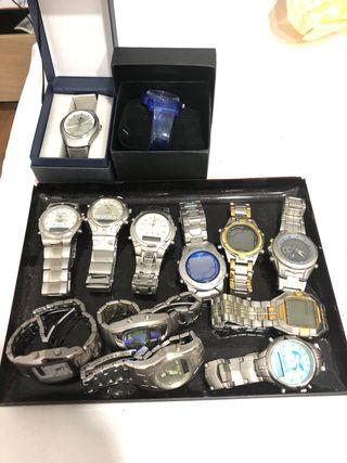 13 relojes