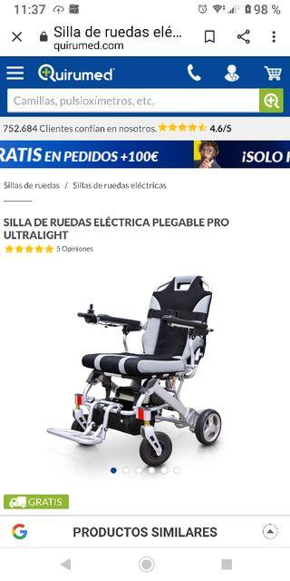 SILLA DE RUEDAS ELECTRICA