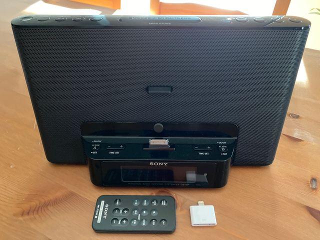 Radio-despertador Sony ICF-DS15iP