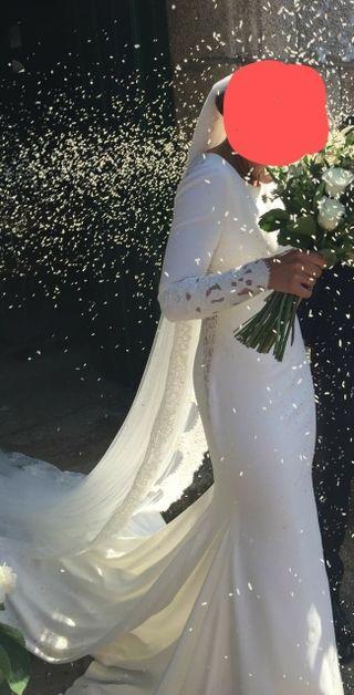vestido novia Pronovias Atelier. modelo Vania