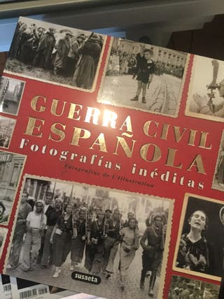 Guerra civil española. Fotografias ineditas.