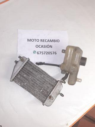 Vaso de expansión + radiador Derbi Senda