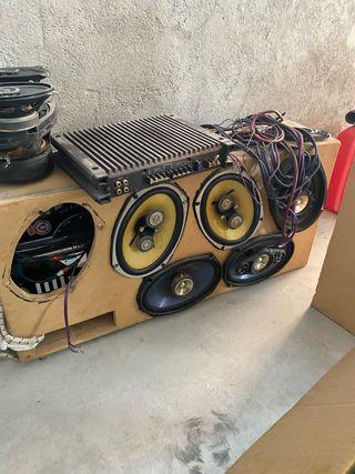 Equipo de sonido car audio