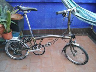 Bicicleta plegable Brompton SL6
