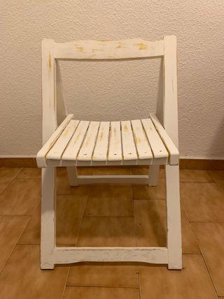 4 sillas plegables