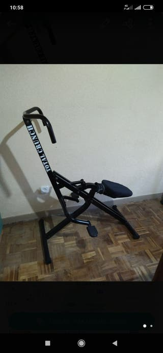 Total crunch , maquina fitness
