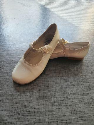 zapatos comunion niña (talla-32)