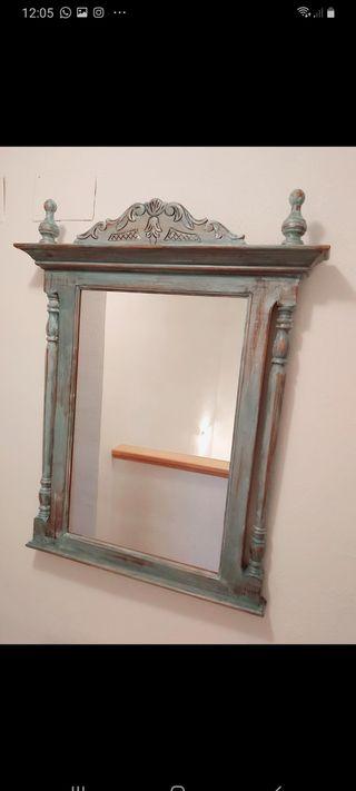 Espejo antiguo restaurado Alexandre