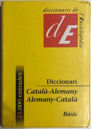 Diccionari Català-Alemany, Alemany-Català