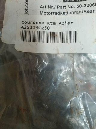 arrastre KTM 530