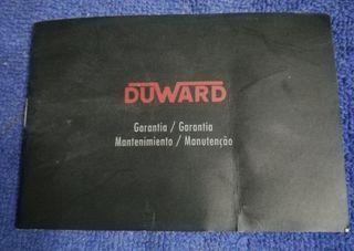 folleto garantia reloj duward antiguo