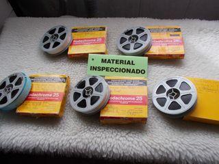 5 peliculas cine 16mm años 70
