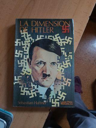 Libros LA DIMENSIÓN DE HITLER SEBASTIÁN HAFFNER