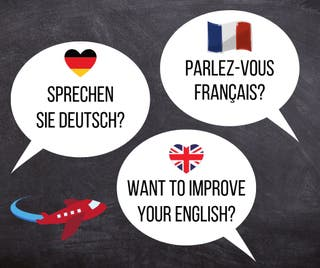 Clases online Inglés, Francés y Alemán