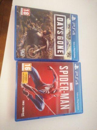 Days Gone + Spiderman PS4