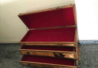 baúl antiguo con cajones porte gratis