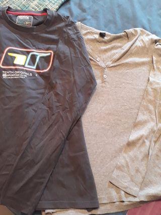 camisetas de hombre de manga larga