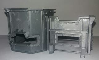 bunker imperial ESCENOGRAFIA WARHAMMER