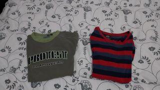 Camisetas de manga larga talla L