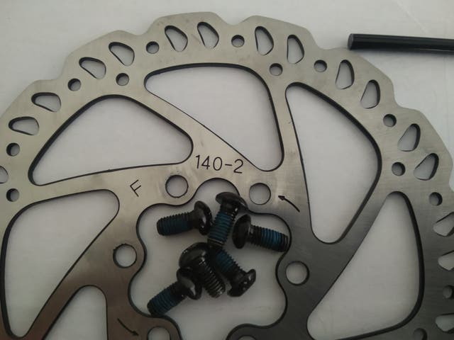 Discos Giant 140mm 6 tornillos