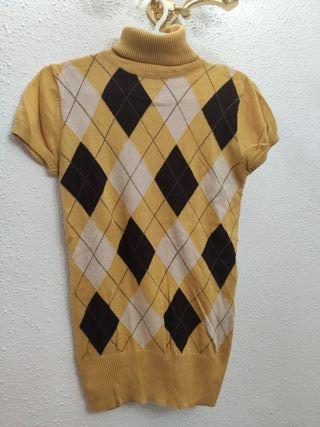 Jersey de manga corta BERSHKA