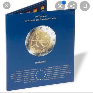 Album para monedas de 2€.