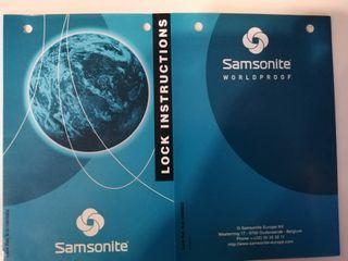 Maletin neceser SAMSONITE 37x32x18 cm