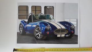 Laminas decoracion coches americanos