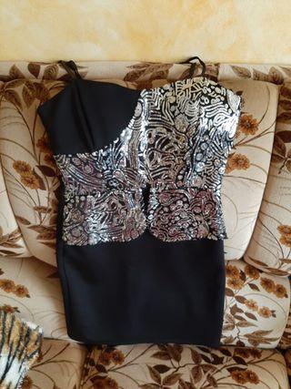 vestido corto tirantes