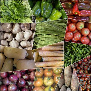 Patacas e froitas
