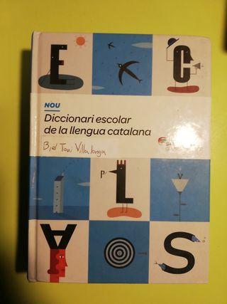 diccionario catalán escolar