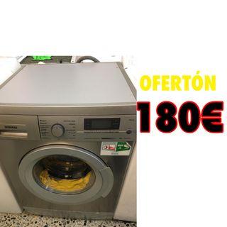 Lavadora Siemens Inox 8kilos con garantía