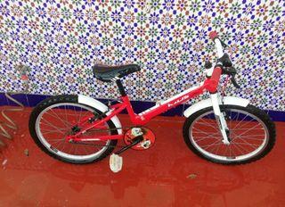 """Bicicleta niño 20"""". de 6 a 10 años"""