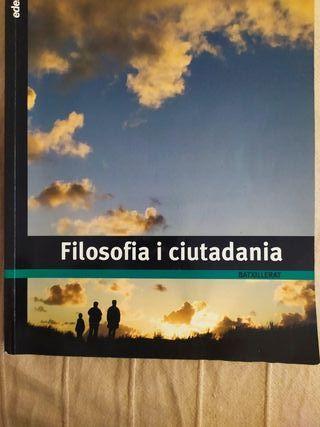 Libro Filosofia i ciutadania