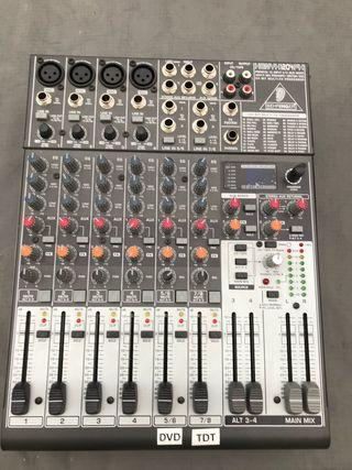 Mesa de mezcla 12 canales