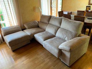 sofa blanco seminuevo