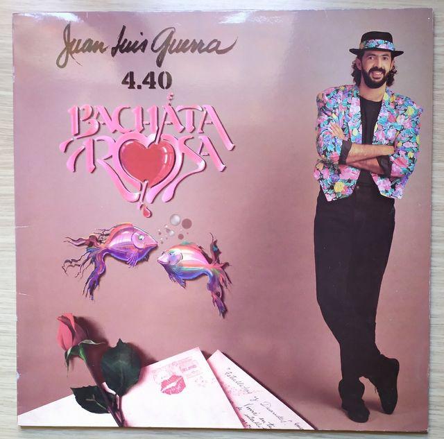 Disco de Vinilo Juan Luis Guerra Bachata Rosa